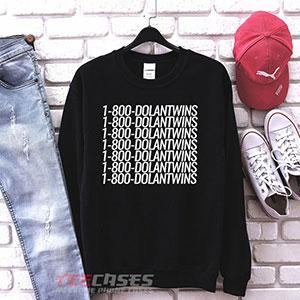 1001 1 800 Dolan Twins Sweatshirt 300x300 - 1-800 Dolan Twins sweatshirt Crewneck