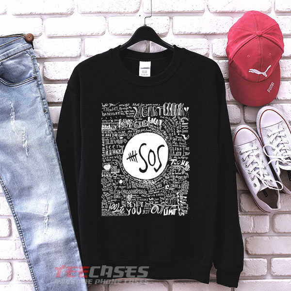 5 Second Of Summer sweatshirt Crewneck