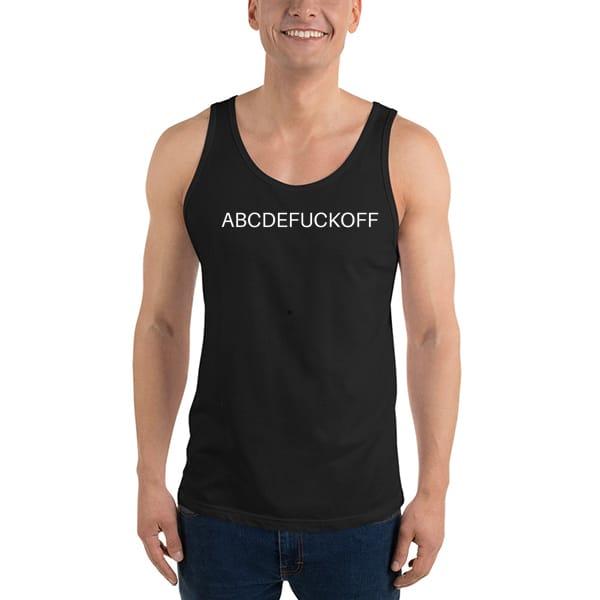 1020 Abcde Fuck Off Tank Top Unisex T Shirt - abcde fuck off Tanktop