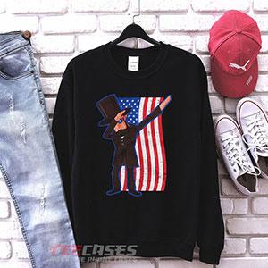 1021 Abe Lincoln Dabbing Usa American Flag Sweatshirt 300x300 - Abe Lincoln Dabbing USA American Flag sweatshirt Crewneck