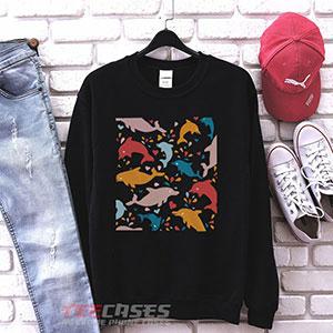 1024 Adam Devine Dolphin Art Sweatshirt 300x300 - Adam DeVine dolphin art sweatshirt Crewneck