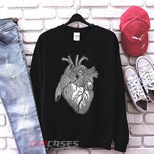 1034 Anatomical Heart Sweatshirt 300x300 - anatomical heart sweatshirt Crewneck