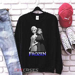 1037 Anna And Esa Frozen Sweatshirt 300x300 - Anna and Elsa sweatshirt Crewneck