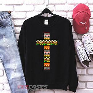 1058 Aztec Cross Tribal Sweatshirt 300x300 - aztec cross Tribal sweatshirt Crewneck