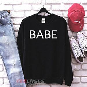 1059 Babe Sweatshirt 300x300 - Babe sweatshirt Crewneck