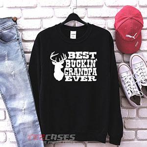 1077 Best Buckin Grandpa Ever Sweatshirt 300x300 - Best Buckin Grandpa Ever sweatshirt Crewneck
