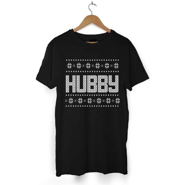 Hubby And Wifey Christmas tshirt