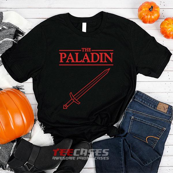 The paladin stranger things tshirt