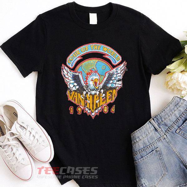 Van Halen Tour tshirt
