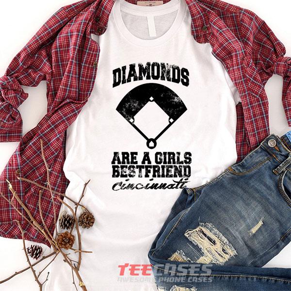 Diamonds Girls Best Friend Cincinatti tshirt