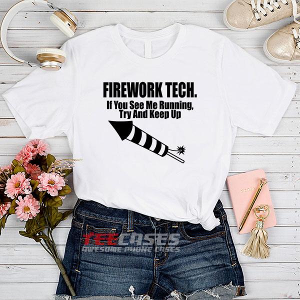 Firework Tech tshirt