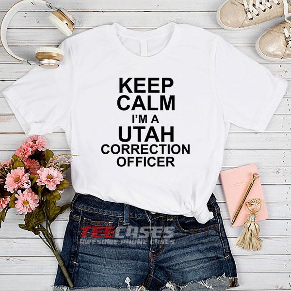 Utah Correction Officer tshirt