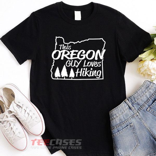 Loves Hiking tshirt