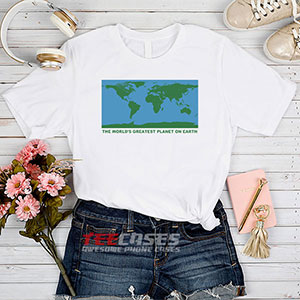 6545 The Worlds Greatest Planet On Earth T Shirt 300x300 - The World's Greatest Planet On Earth tshirt