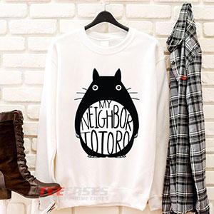 6569 Totoro Cartoon Sweatshirt 300x300 - Totoro Cartoon sweatshirt Crewneck