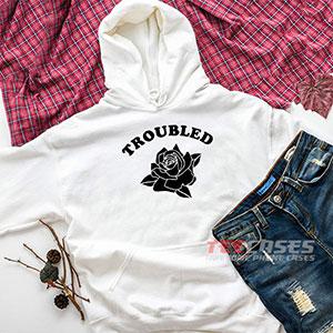 6577 Troubled Rose Hoodie Sweatshirts 300x300 - Troubled Rose hoodie