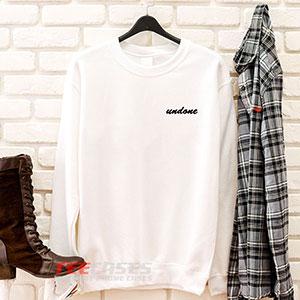 6591 Undone Sweatshirt 300x300 - Undone sweatshirt Crewneck