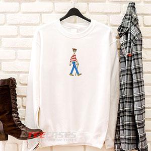 6604 Waldo Sweatshirt 300x300 - Waldo sweatshirt Crewneck