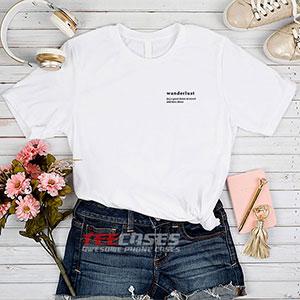 6605 Wanderlust Quote T Shirt 300x300 - Wanderlust Quote tshirt
