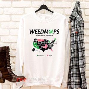6611 Weedmaps Legally Smoke Marijuana Sweatshirt 300x300 - Weedmaps Legally Smoke Marijuana sweatshirt Crewneck