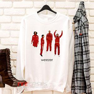 6613 Weezer Band Sweatshirt 300x300 - Weezer Band sweatshirt Crewneck