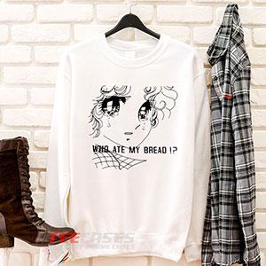 6622 Who Ate My Bread Manga Girl Sweatshirt 300x300 - Who Ate My Bread Manga Girl sweatshirt Crewneck