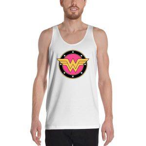6629 Wonder Woman Logo Tank Top Unisex T Shirt 300x300 - Wonder Woman Logo Tanktop