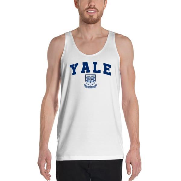 6633 Yale Lux Et Veritas Tank Top Unisex T Shirt - Yale Lux Et Veritas Tanktop
