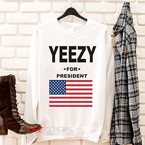 6635 Yeezy For President Sweatshirt 300x300 - Yeezy For President sweatshirt Crewneck