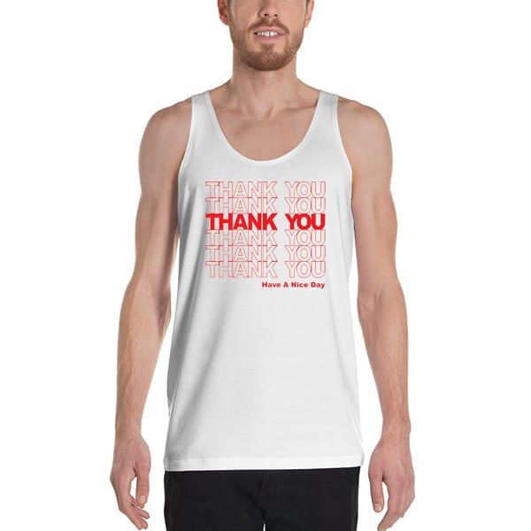 6644 Thank You Tank Top Unisex T Shirt - You You You Tanktop