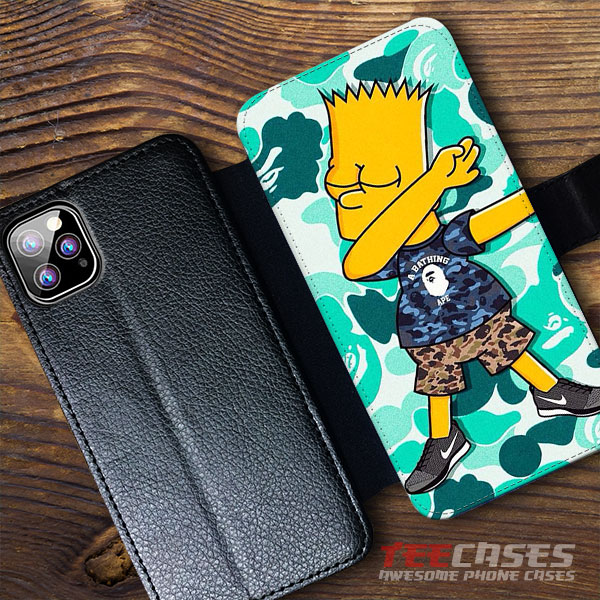 The Simpsons Wallet Case