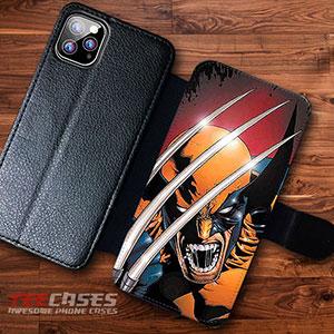 X Men Wolverine Wallet Cases 23053 300x300 - X-Men Wolverine Wallet iphone samsung case