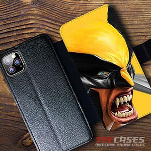X Men Wolverine Wallet Cases 23054 300x300 - X-Men Wolverine Wallet iphone samsung case