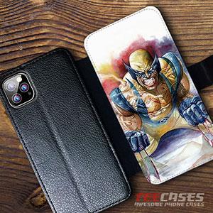 X Men Wolverine Wallet Cases 23058 300x300 - X-Men Wolverine Wallet iphone samsung case