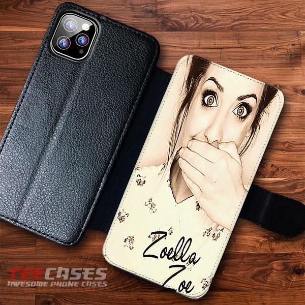 Zoella Zoe Wallet Cases 23116 - Zoella Zoe Wallet iphone samsung case