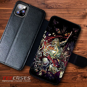 Zombies In Wonderland Wallet Cases 23122 300x300 - Zombies in Wonderland Wallet iphone samsung case